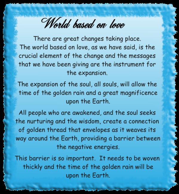 World based on love