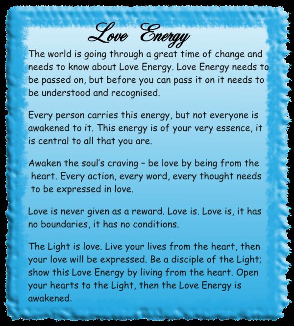 Love Energy