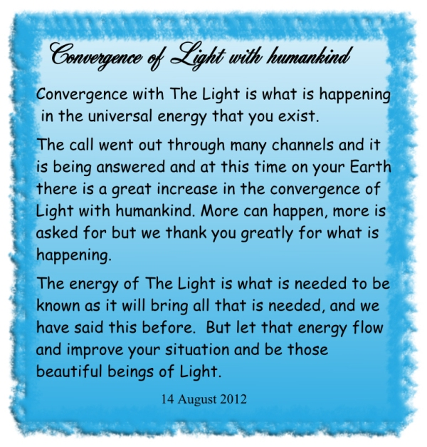 Convergence of Light with humankind