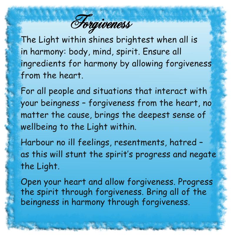Forgivenesss