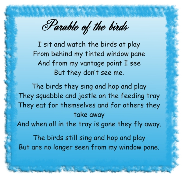 Parable of the birds