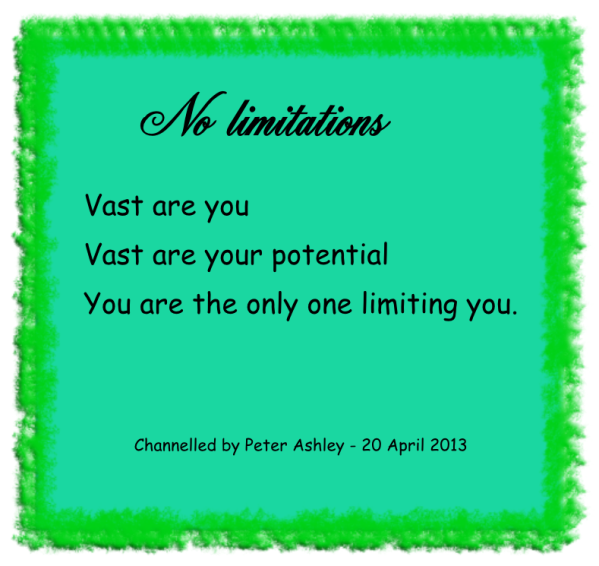 No limitations