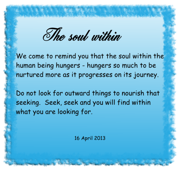 The soul within