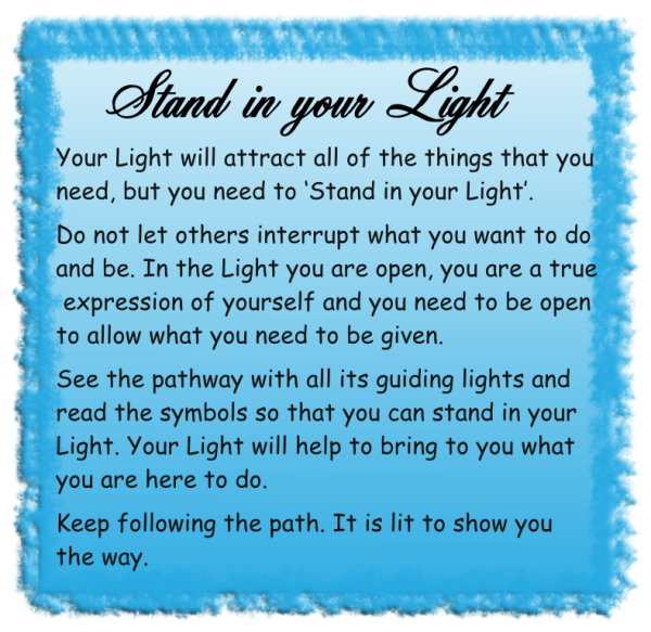 Stand in your Light