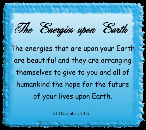 The energies