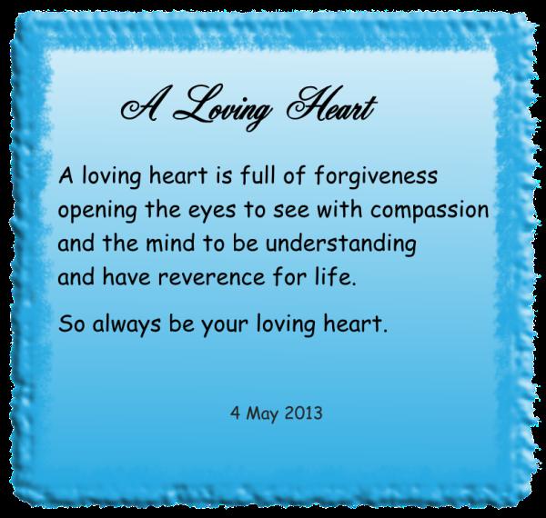 A Loving Heart