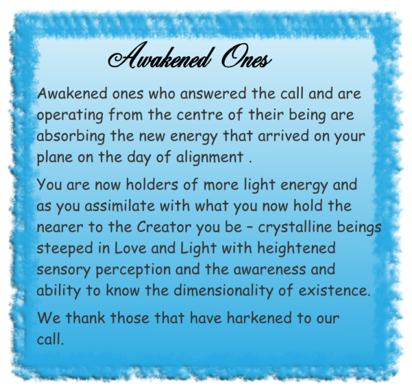 Awakened ones