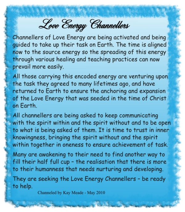 Love Energy Channellers