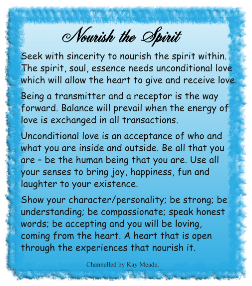 Nourish the Spirit