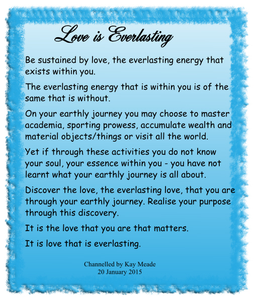 Love is Everlasting