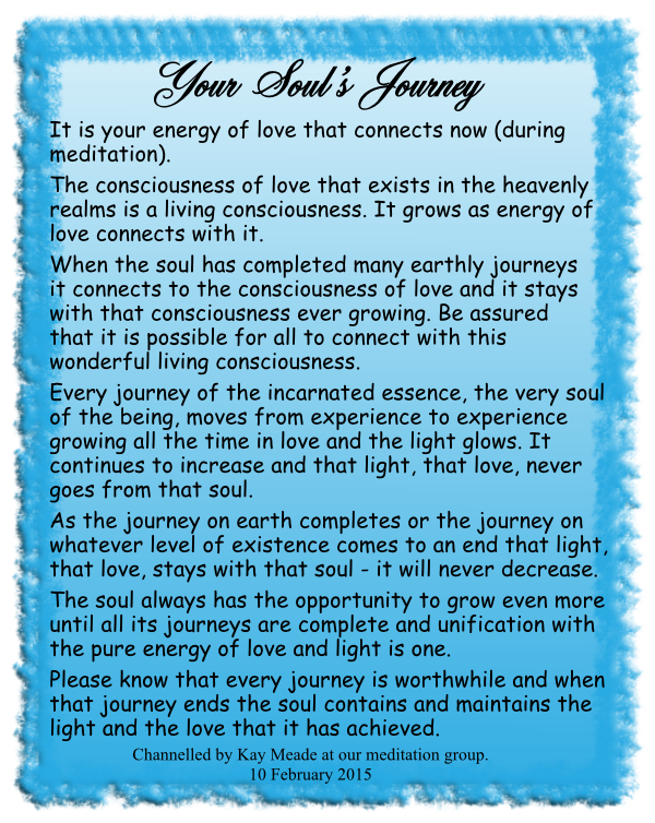 Your Soul's Journey