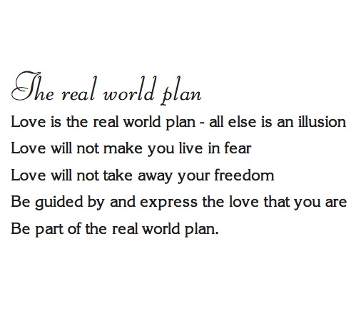 The real world plan (white background)