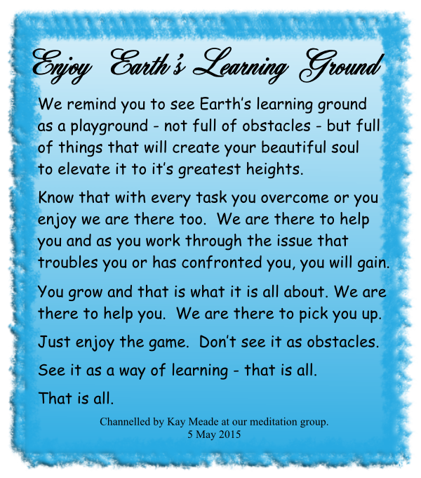 Enjoy Earth's Learning Ground