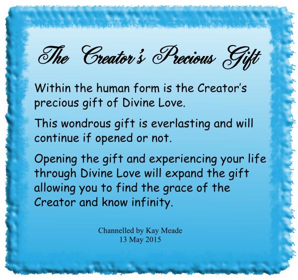 The Creator's Precious Gift