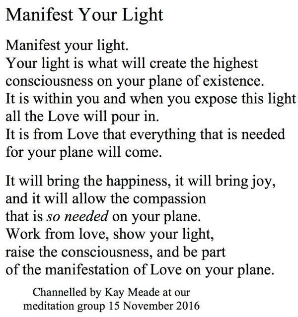 manifest-your-light